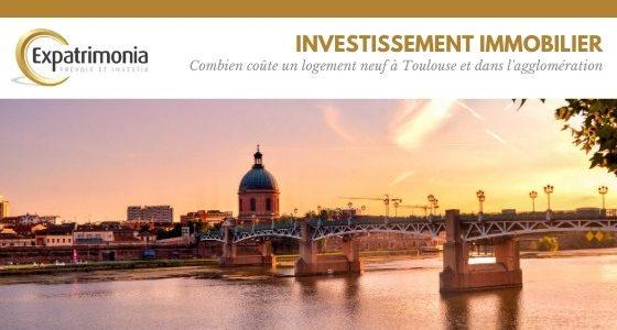 Combien coûte un logement neuf à Toulouse et dans l'agglomération