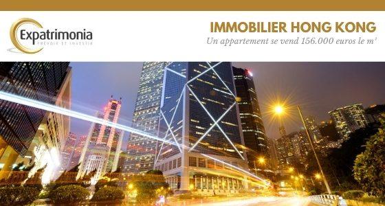 Immobilier Hong Kong - Un appartement se vend 156.000 euros le m²