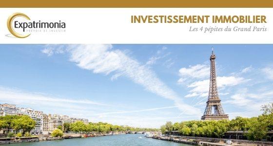 Investissement immobilier : les 4 pépites du Grand Paris