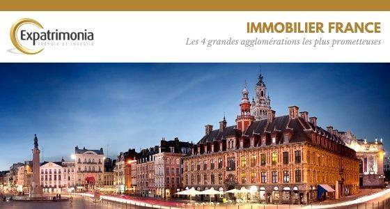 Immobilier : les 4 grandes agglomérations les plus prometteuses